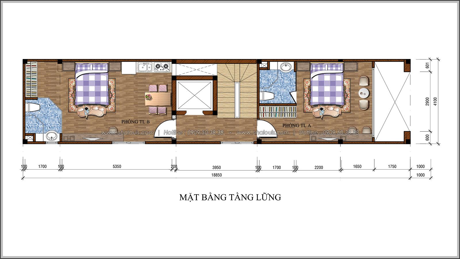 Nhà phố tân cổ điển ở Tân Bình mặt tiền 4m đẹp choáng ngợp - 04