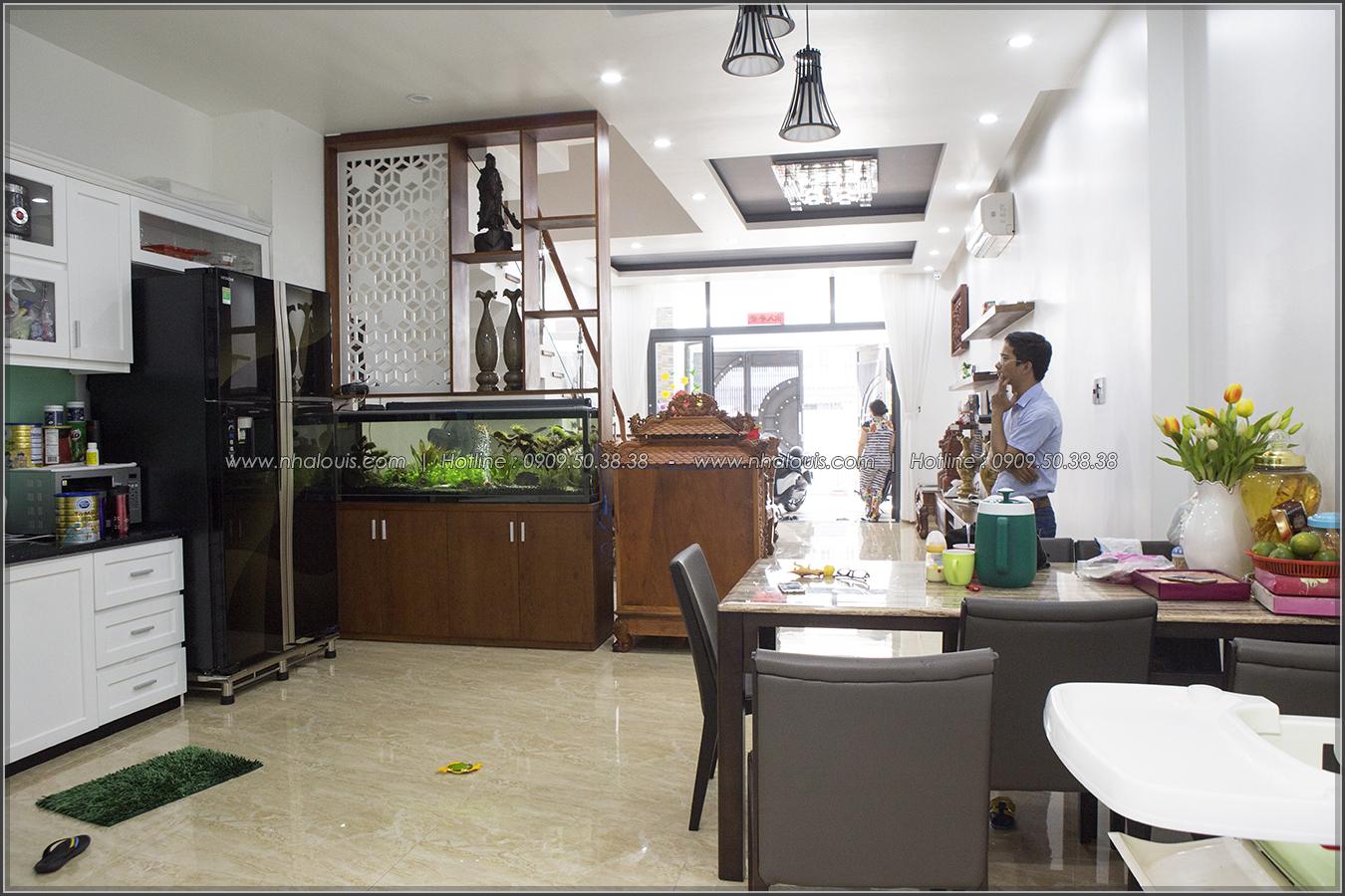 Thi công nhà phố liền kề đẹp hiện đại tại Bình Phú quận 6