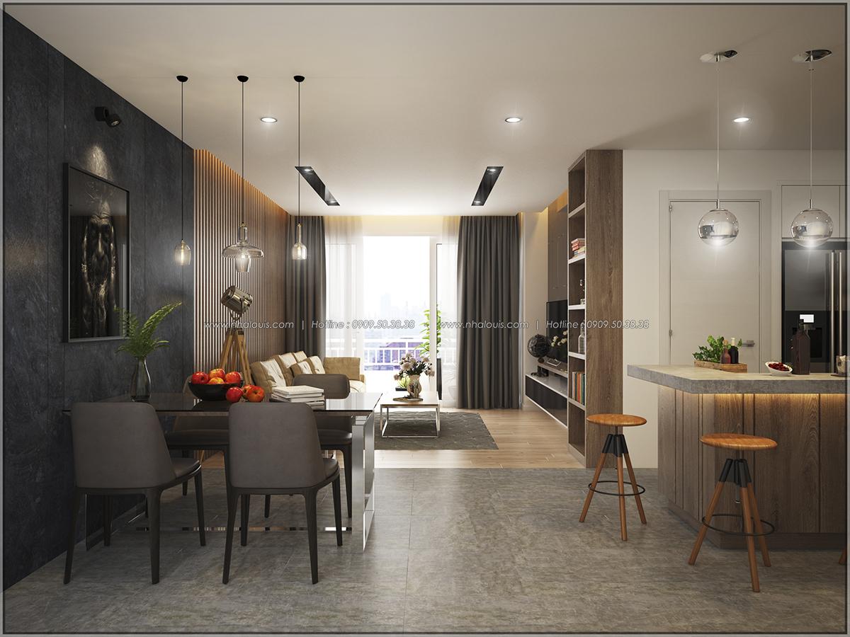 Thiết kế căn hộ Sunrise City 3 phòng ngủ ở Quận 7 với nội thất ấn tượng - 03