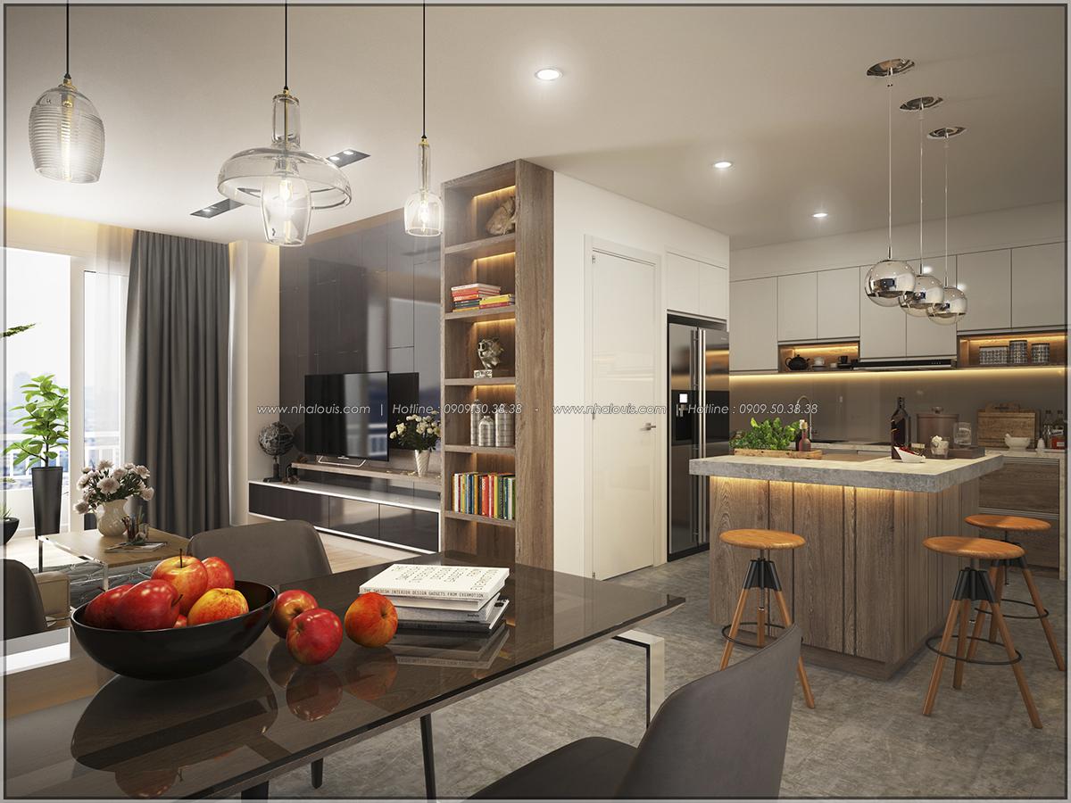 Thiết kế căn hộ Sunrise City 3 phòng ngủ ở Quận 7 với nội thất ấn tượng - 04