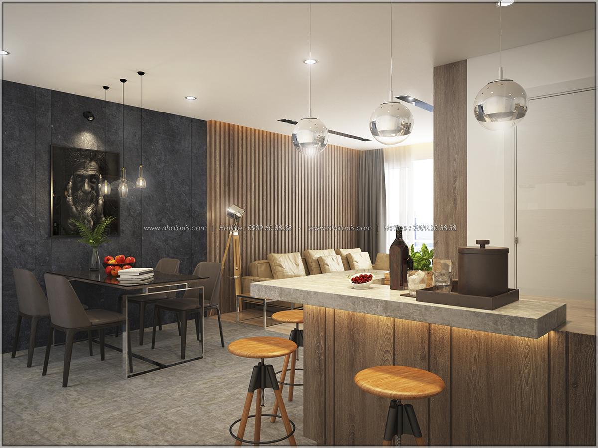 Thiết kế căn hộ Sunrise City 3 phòng ngủ ở Quận 7 với nội thất ấn tượng - 05