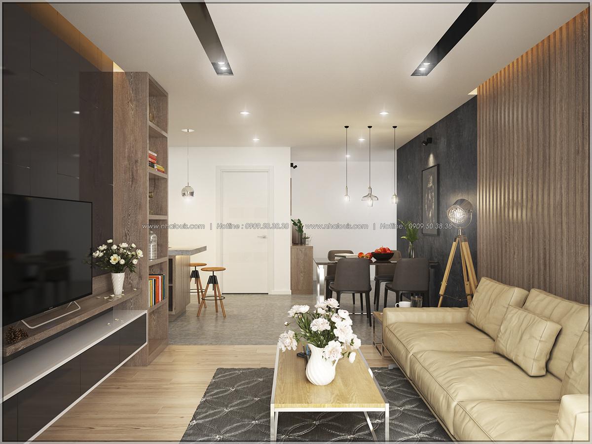 Thiết kế căn hộ Sunrise City 3 phòng ngủ ở Quận 7 với nội thất ấn tượng