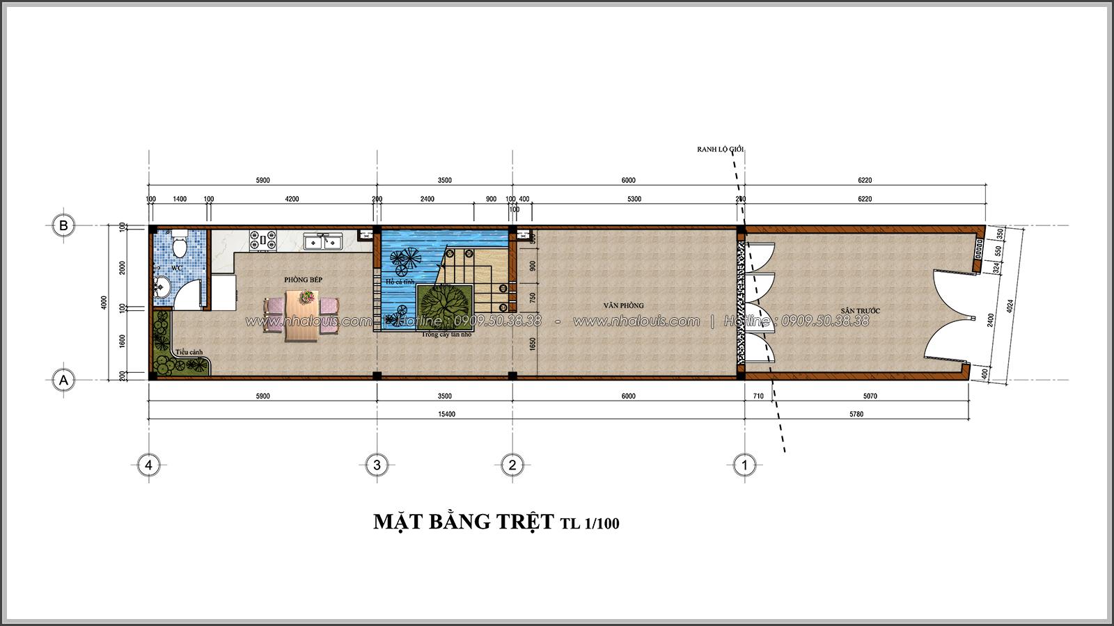 Thiết kế nhà đẹp 3 tầng chuẩn sang trọng tại Thủ Đức - 03
