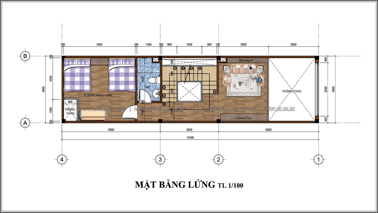 Thiết kế nhà đẹp 3 tầng chuẩn sang trọng tại Thủ Đức - 04