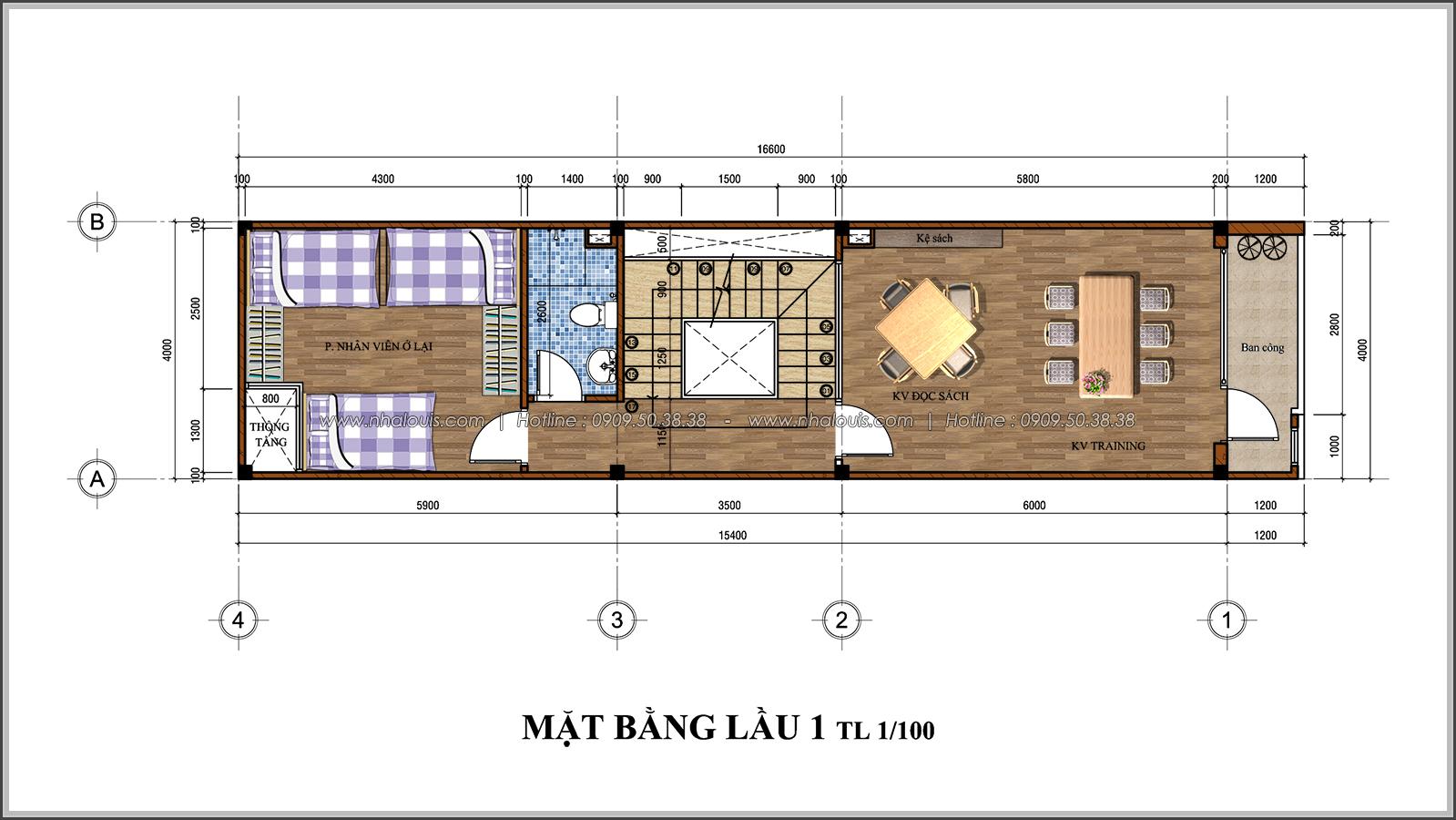 Thiết kế nhà đẹp 3 tầng chuẩn sang trọng tại Thủ Đức - 05