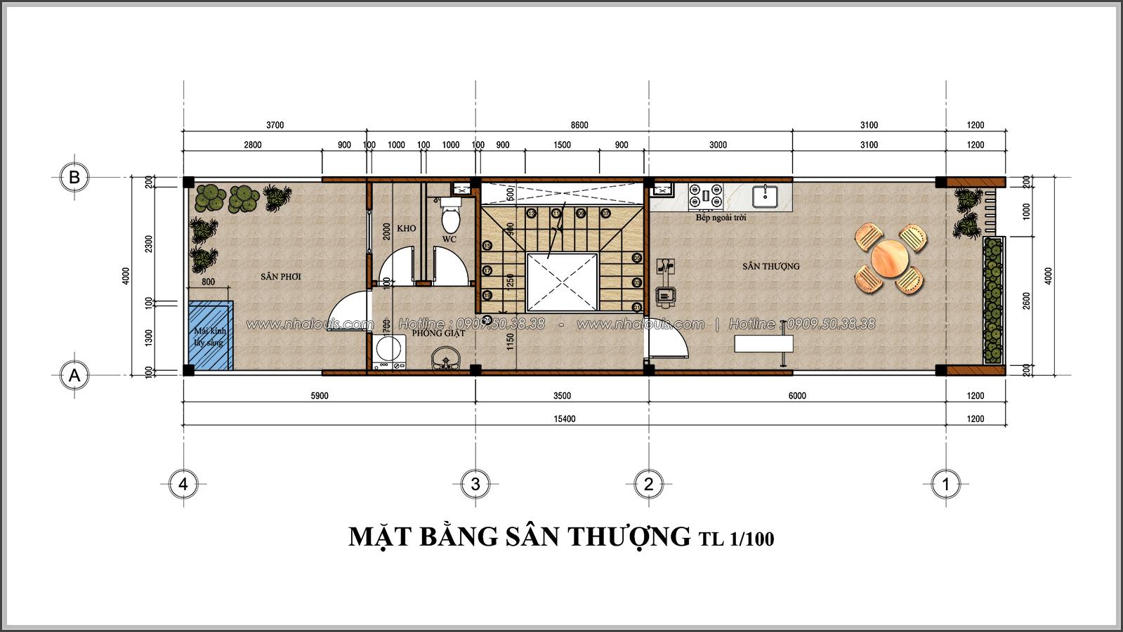 Thiết kế nhà đẹp 3 tầng chuẩn sang trọng tại Thủ Đức - 07