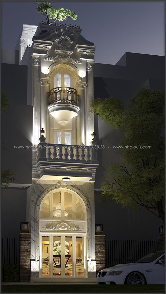 Thiết kế nhà ống 3 tầng đẹp tại Quận 3 phong cách cổ điển nhỏ mà chất - 02