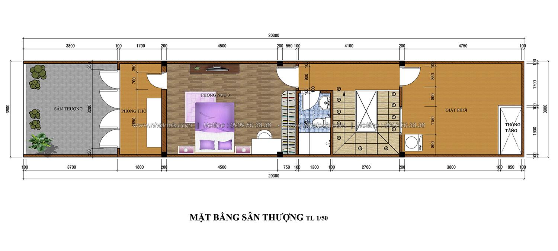 Thiết kế nhà phố 3 tầng tại Tân Bình cực chất với vẻ đẹp hiện đại - 04