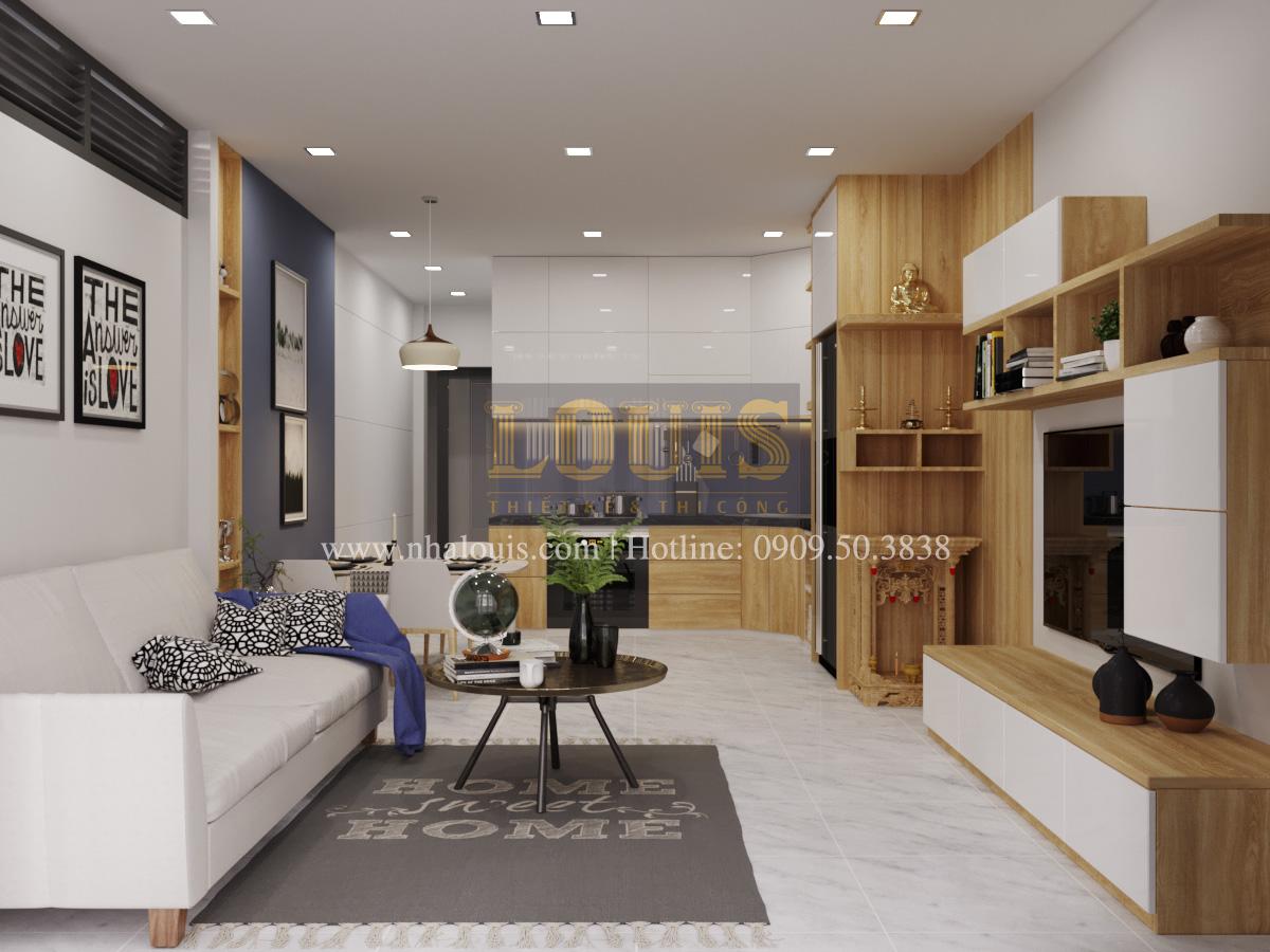 Thiết kế nhà phố đẹp 3 tầng tại Quận 10 với nội thất chuẩn sang trọng - 03