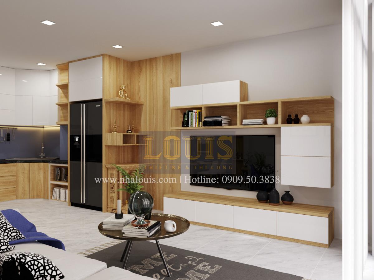 Thiết kế nhà phố đẹp 3 tầng tại Quận 10 với nội thất chuẩn sang trọng - 04