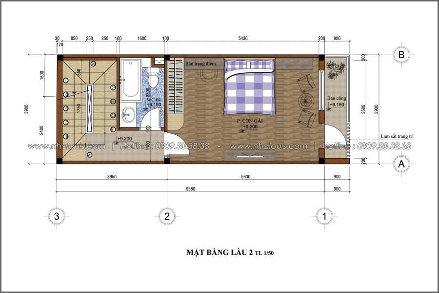 Thiết kế nhà phố đẹp 3 tầng tại Quận 10 với nội thất chuẩn sang trọng - 19