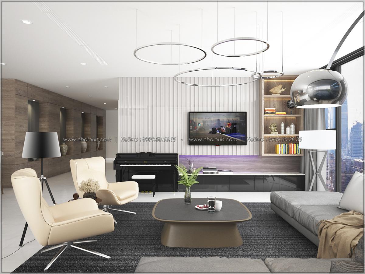 Thiết kế nội thất chung cư hiện đại tại dự án Sunrise City Quận 7 - 01