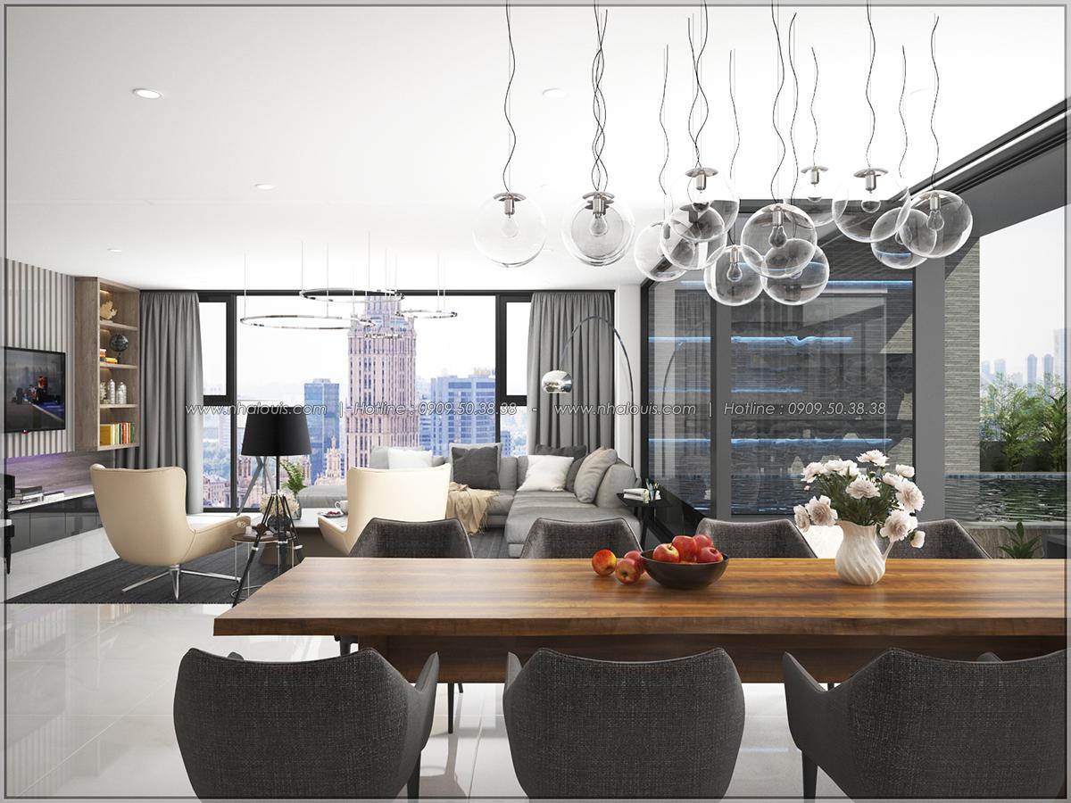 Thiết kế nội thất chung cư hiện đại tại dự án Sunrise City Quận 7 - 07