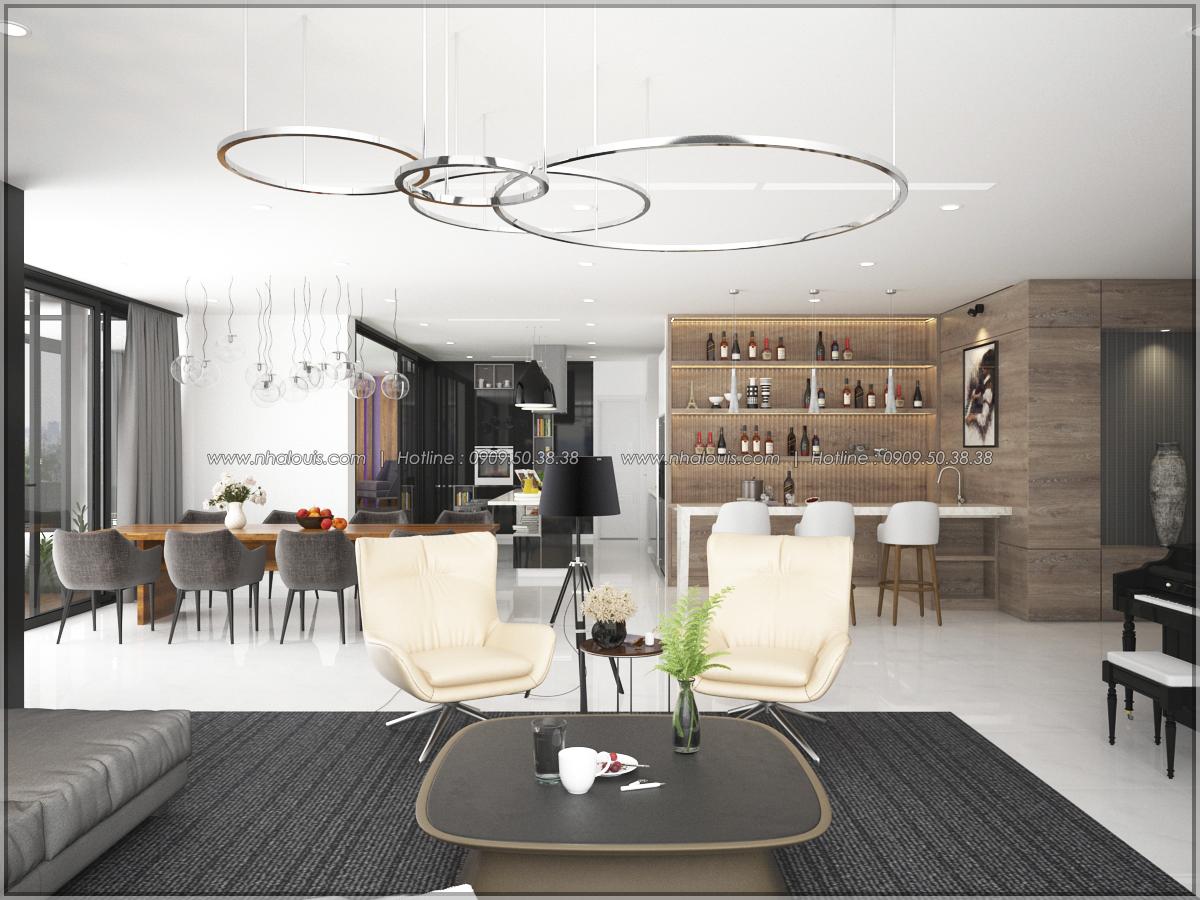Thiết kế nội thất chung cư hiện đại tại dự án Sunrise City Quận 7 - 08
