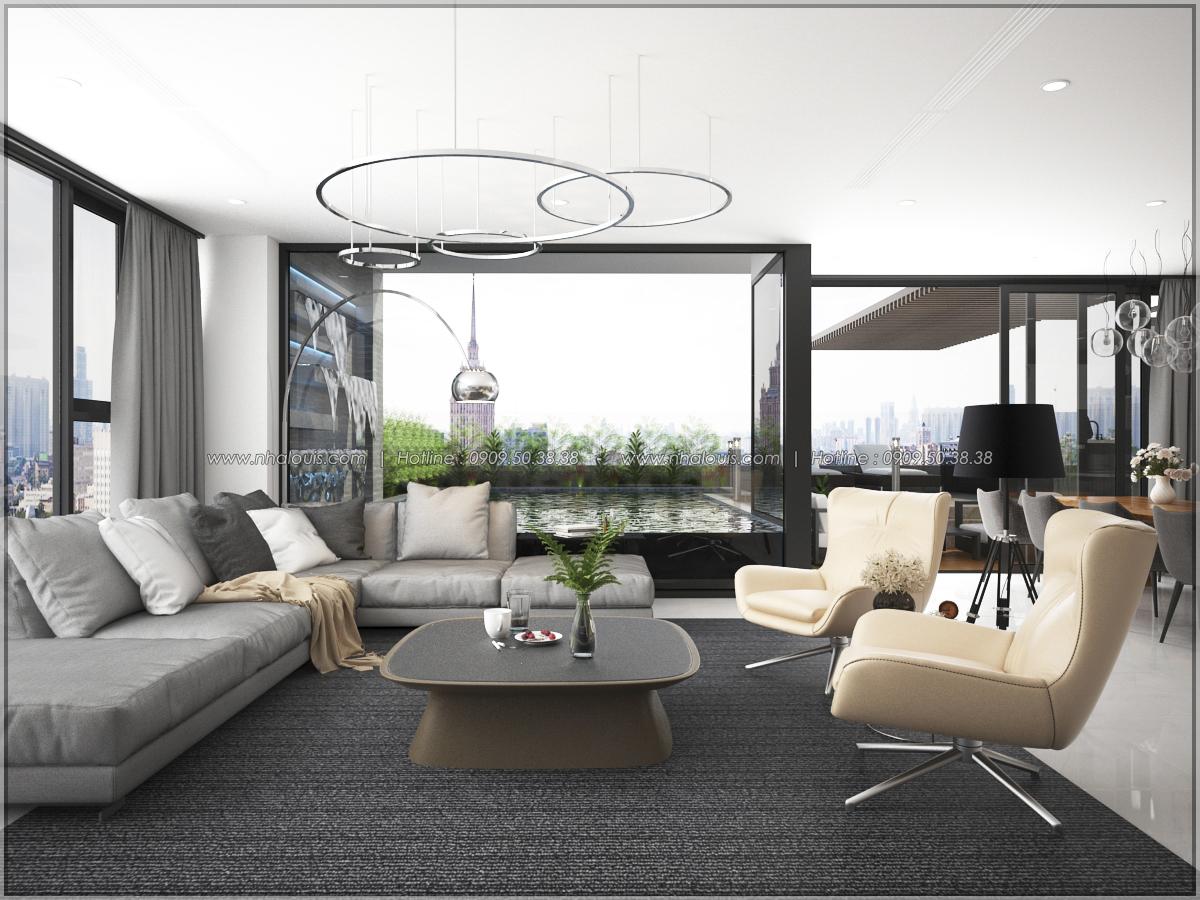 Thiết kế nội thất chung cư hiện đại tại dự án Sunrise City Quận 7 - 09