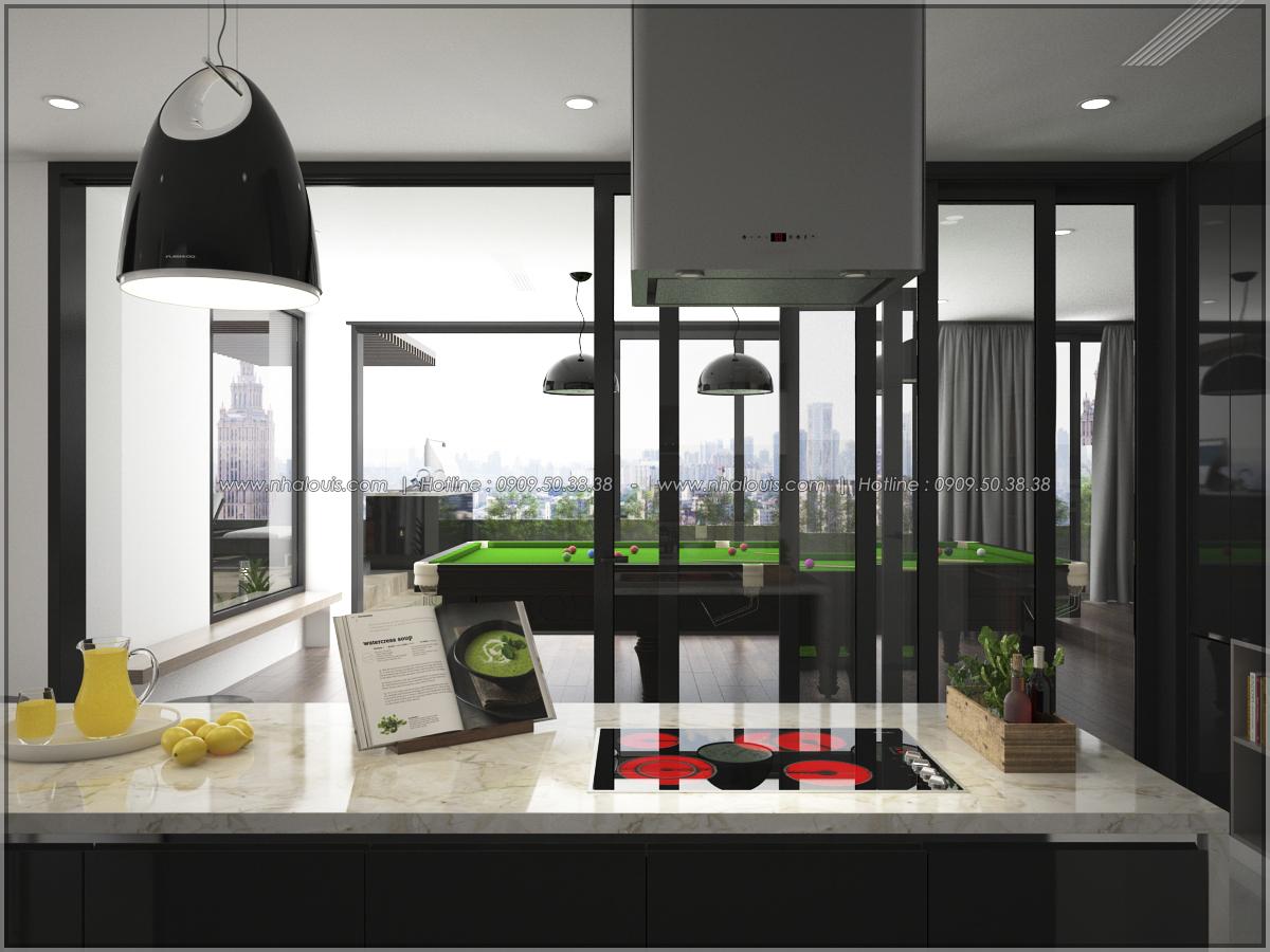 Thiết kế nội thất chung cư hiện đại tại dự án Sunrise City Quận 7 - 12