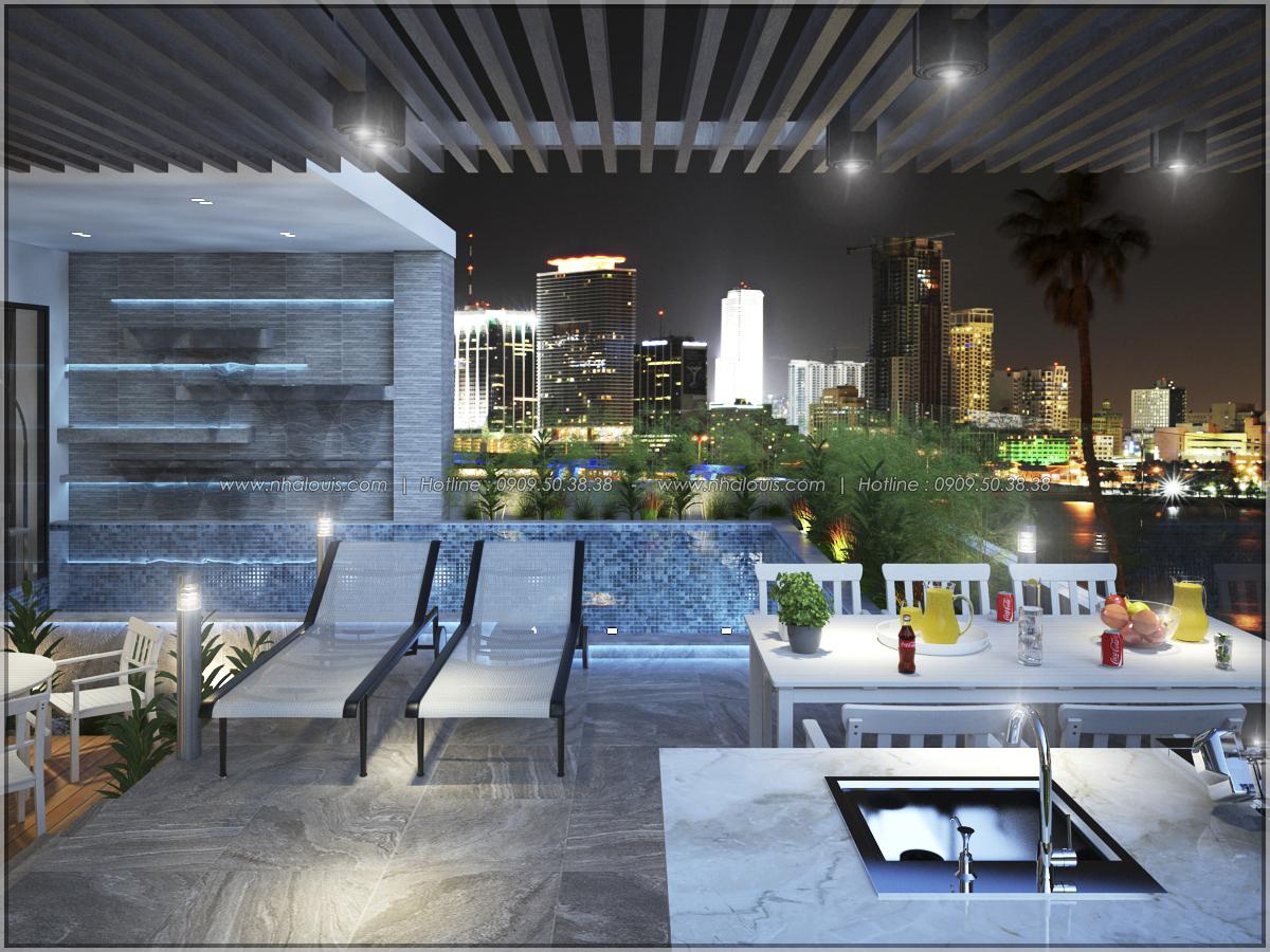 Thiết kế nội thất chung cư hiện đại tại dự án Sunrise City Quận 7 - 15
