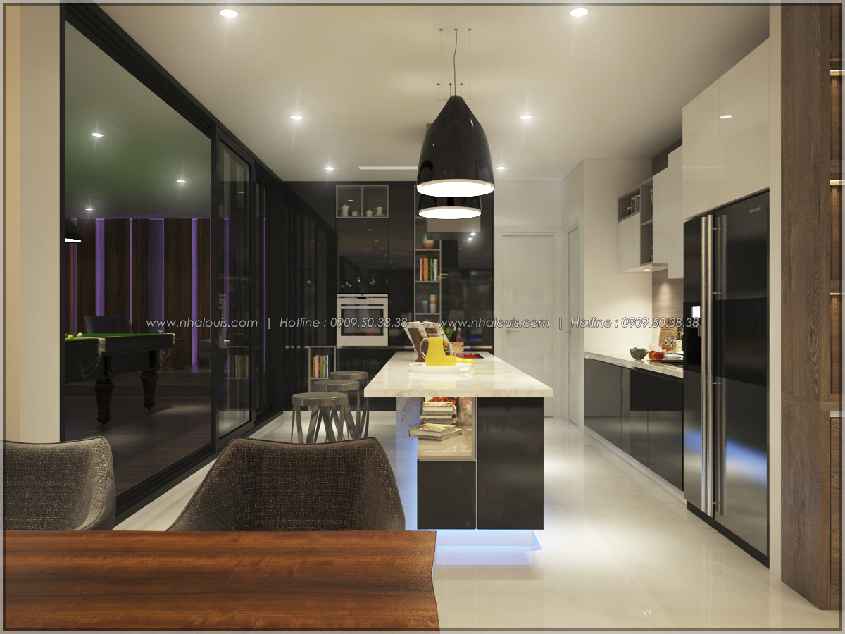 Thiết kế nội thất chung cư hiện đại tại dự án Sunrise City Quận 7 - 19