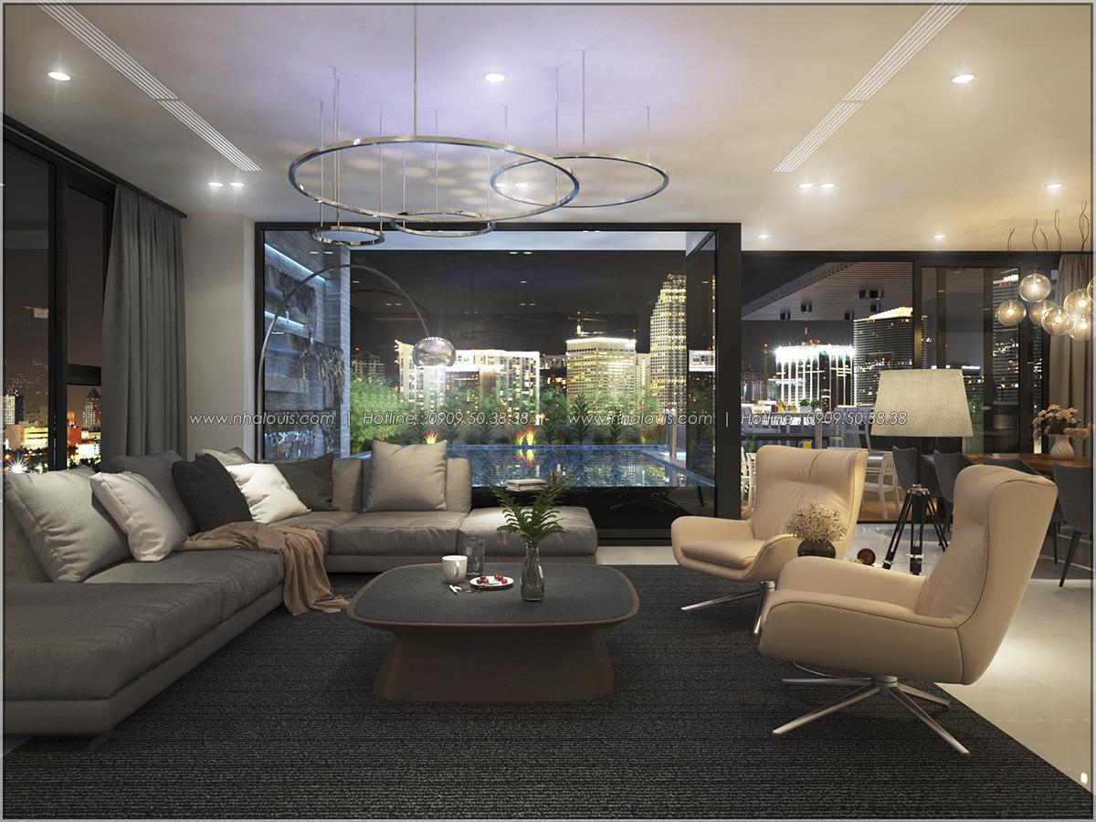Thiết kế nội thất chung cư hiện đại tại dự án Sunrise City Quận 7