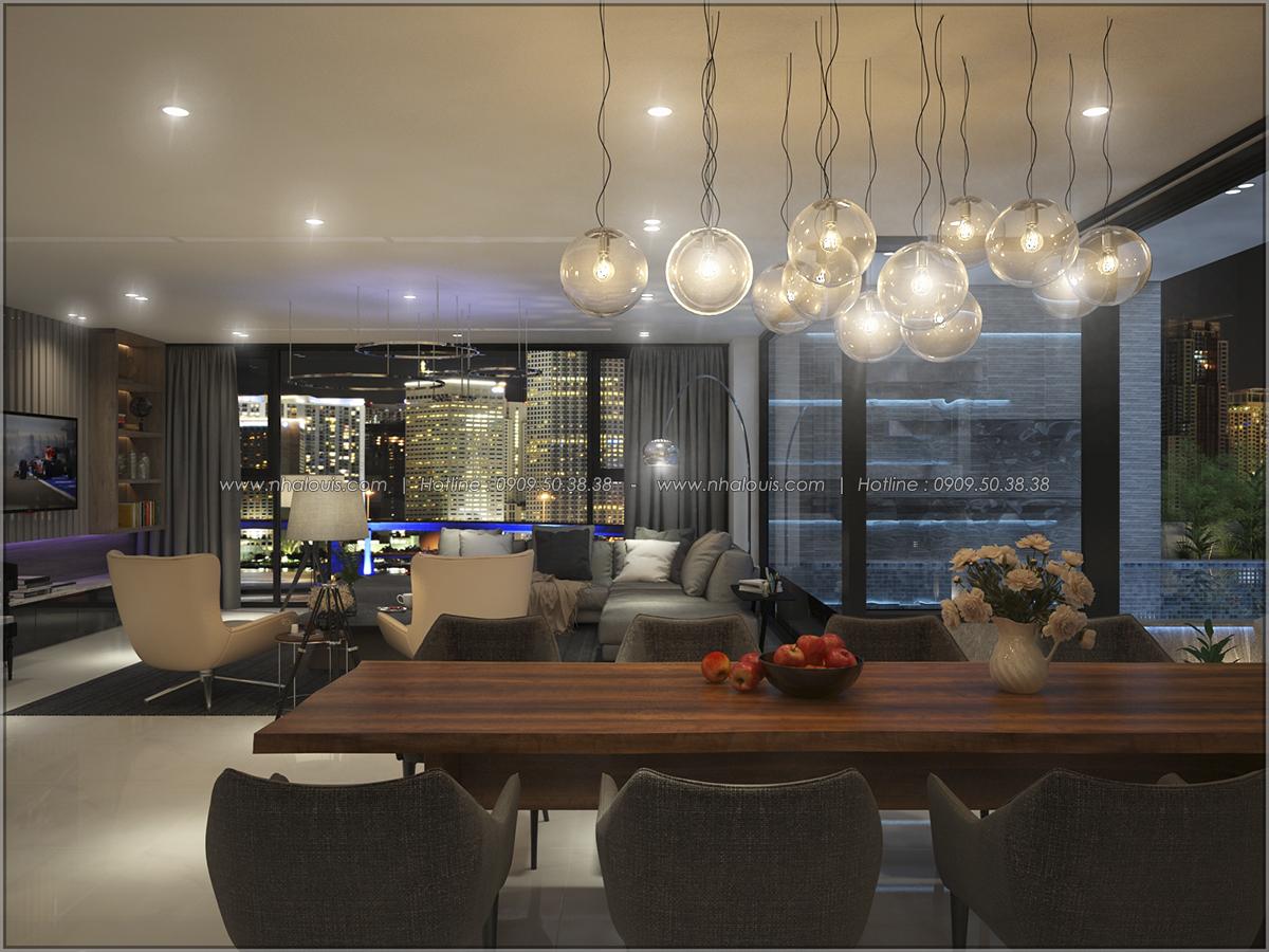 Thiết kế nội thất chung cư hiện đại tại dự án Sunrise City Quận 7 - 24