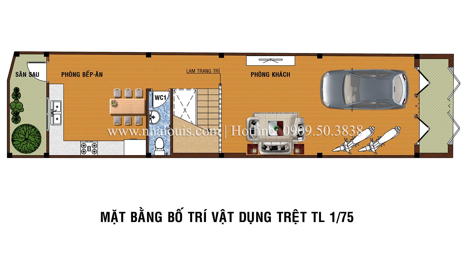 Mẫu nhà phố 5 tầng ở Tân Phú với phong cách hiện đại tinh tế - 03