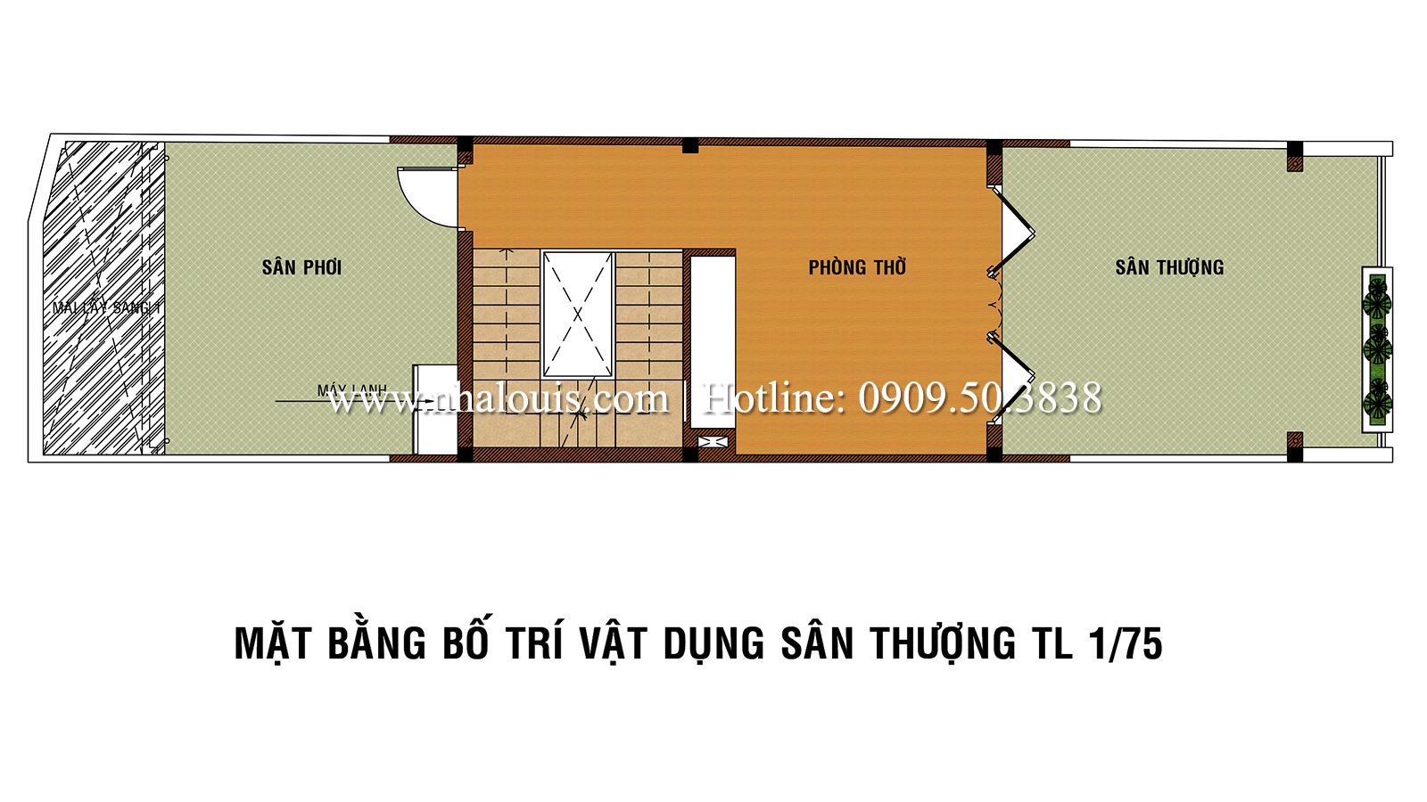 Mẫu nhà phố 5 tầng ở Tân Phú với phong cách hiện đại tinh tế - 05