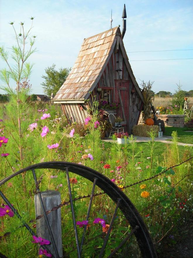 Ngôi nhà gỗ bước ra từ câu chuyện cổ tích đẹp mê hồn