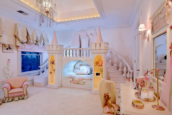 Phòng ngủ của con cưng với nội thất tiền tỷ cực chất - 01