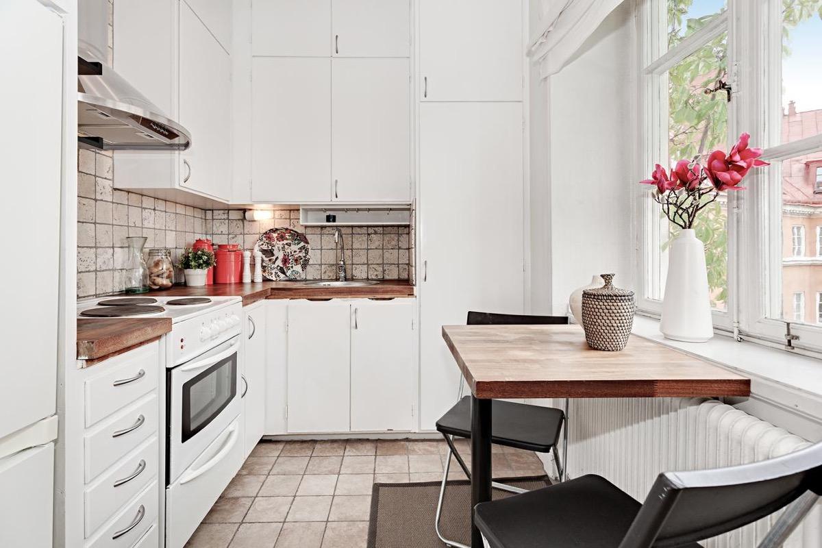 Bếp đẹp theo phong cách chiết trung Bắc Âu tại sao không