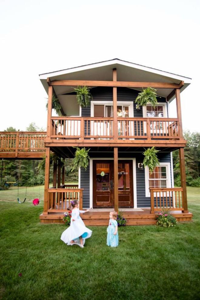 Đây không phải ngôi nhà gỗ bình thường, chúng tôi gọi đó là không gian của tình yêu thương