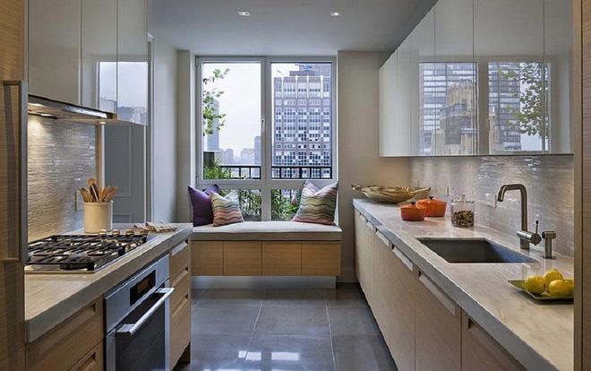 Khác biệt với 10 mẫu thiết kế nhà bếp có ghế ngồi bên cửa sổ - 10