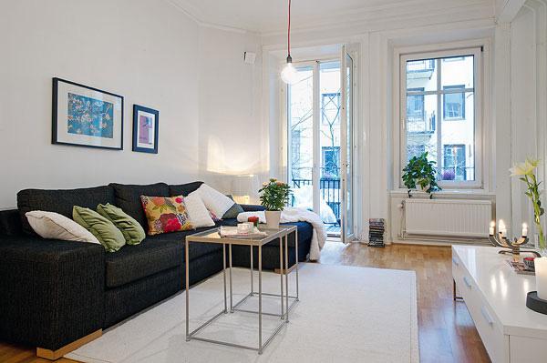 Không gian căn hộ hiện đại và tiện nghi nhờ cách bài trí thông minh