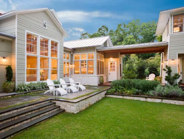Ngôi nhà cổ điển tại Mỹ đẹp quý phái ở vùng ngoại ô Austin - 02