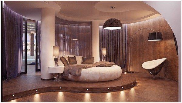 9 mẫu phòng ngủ phong cách Futuristic hiện đại và độc đáo - 01