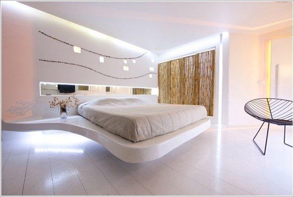 9 mẫu phòng ngủ phong cách Futuristic hiện đại và độc đáo - 02