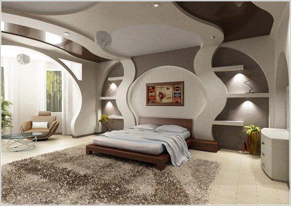 9 mẫu phòng ngủ phong cách Futuristic hiện đại và độc đáo - 03