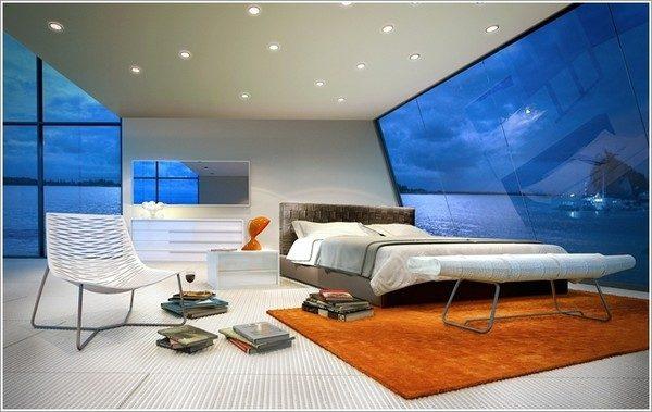9 mẫu phòng ngủ phong cách Futuristic hiện đại và độc đáo - 04