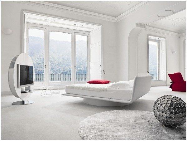 9 mẫu phòng ngủ phong cách Futuristic hiện đại và độc đáo - 05