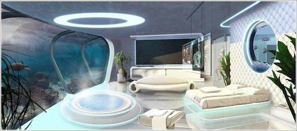 9 mẫu phòng ngủ phong cách Futuristic hiện đại và độc đáo - 06
