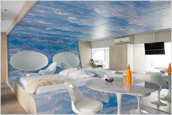 9 mẫu phòng ngủ phong cách Futuristic hiện đại và độc đáo - 08