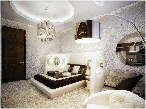9 mẫu phòng ngủ phong cách Futuristic hiện đại và độc đáo - 09