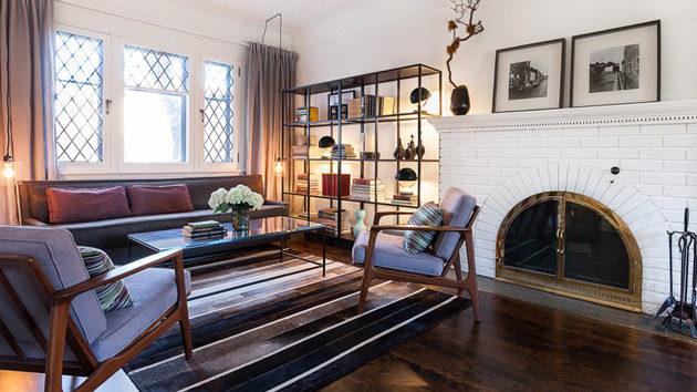 Mẫu thiết kế nhà tân cổ điển với nội thất cực chất tại Ontario - 01