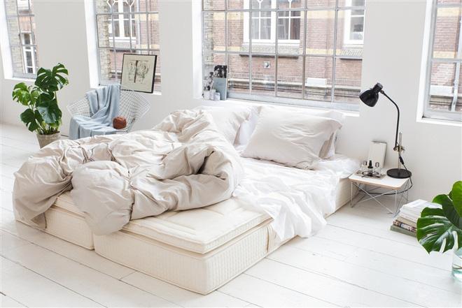 Những mẫu phòng ngủ đẹp không cần giường nên trải nghiệm
