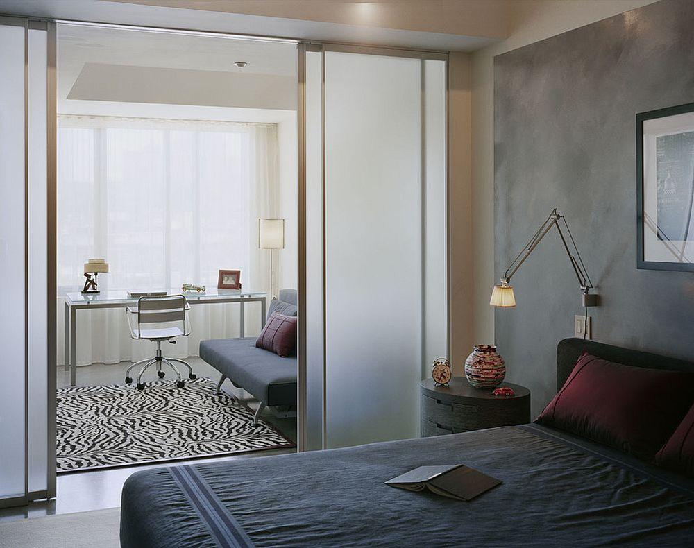 Phòng ngủ đẹp mê ly với cách ngăn phòng hiện đại