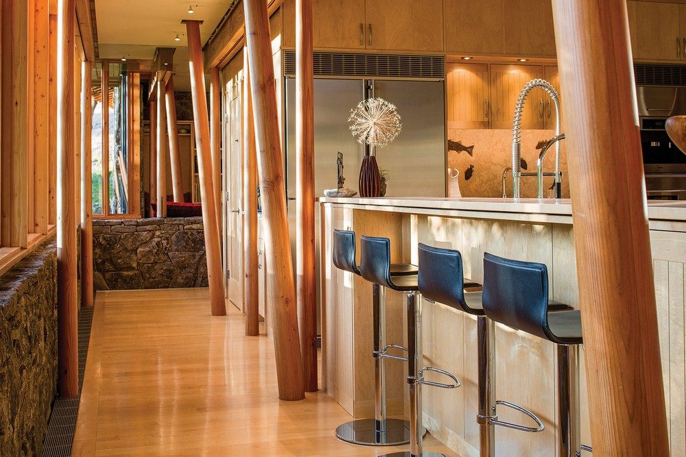 Thiết kế nhà gỗ hiện đại hòa mình cùng thiên nhiên tại Montana - 03