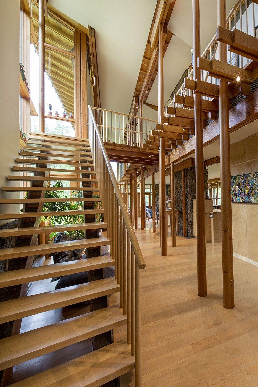 Thiết kế nhà gỗ hiện đại hòa mình cùng thiên nhiên tại Montana - 04