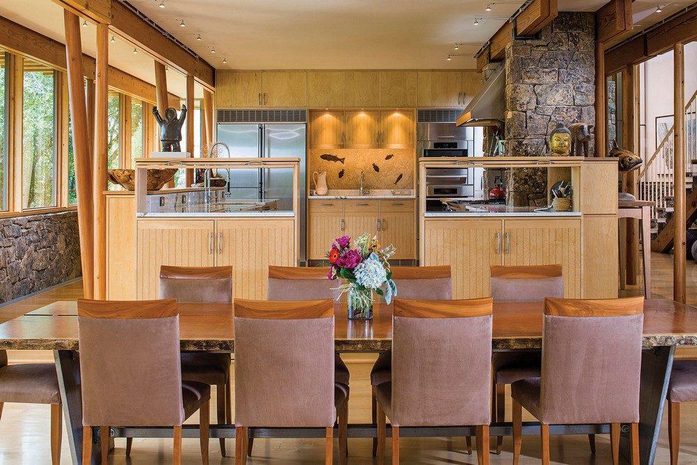 Thiết kế nhà gỗ hiện đại hòa mình cùng thiên nhiên tại Montana - 05