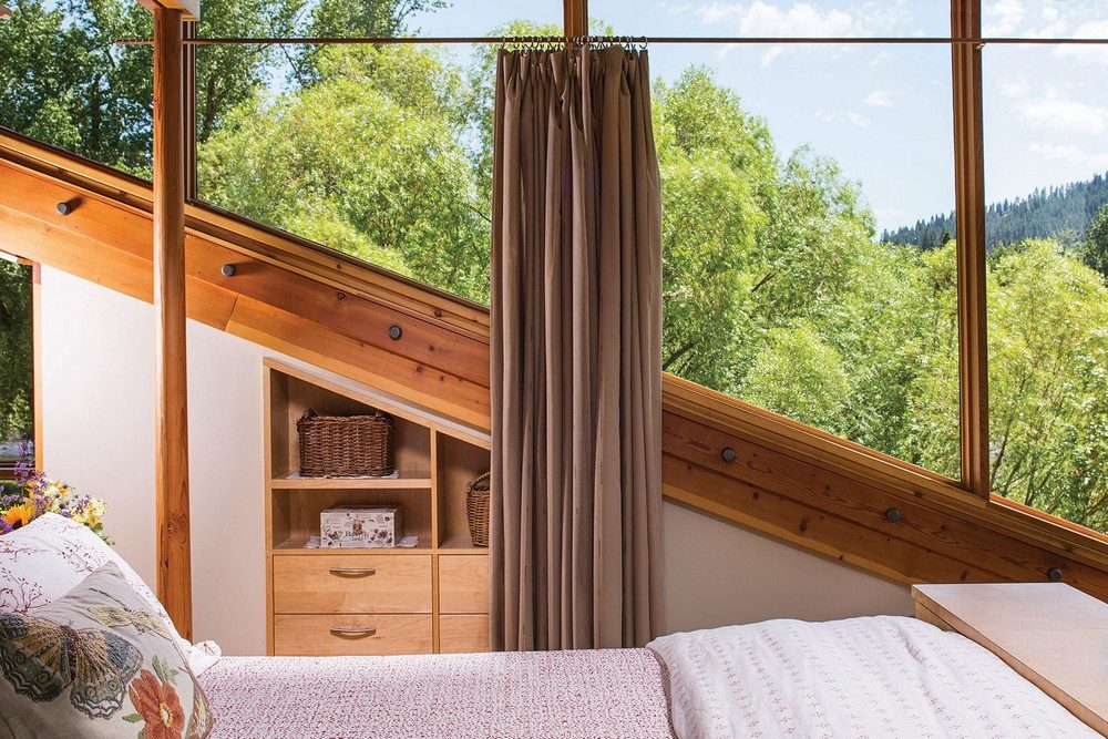 Thiết kế nhà gỗ hiện đại hòa mình cùng thiên nhiên tại Montana - 07