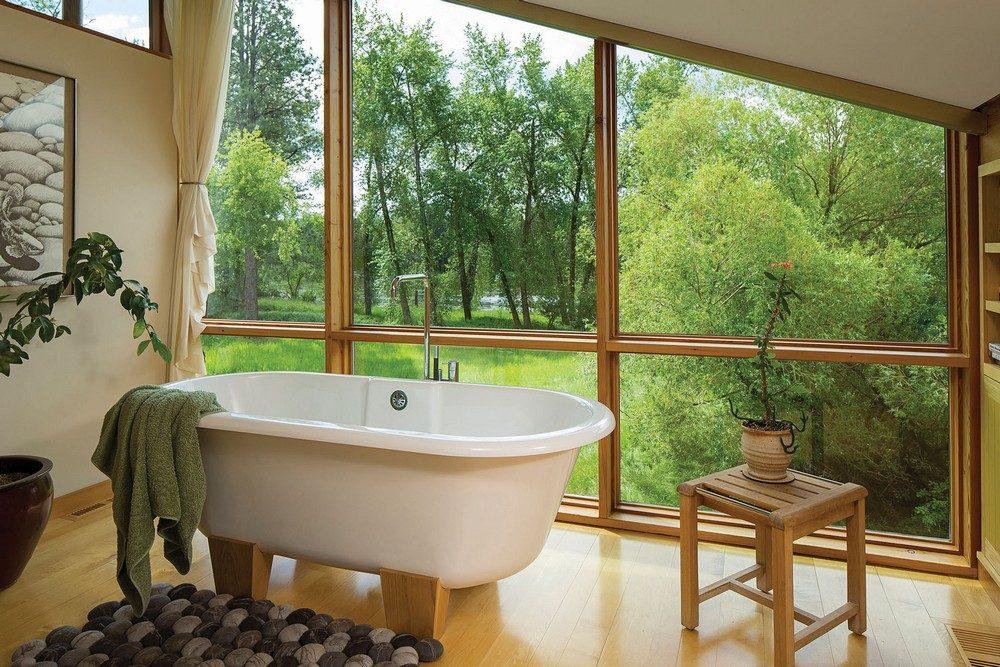 Thiết kế nhà gỗ hiện đại hòa mình cùng thiên nhiên tại Montana - 08