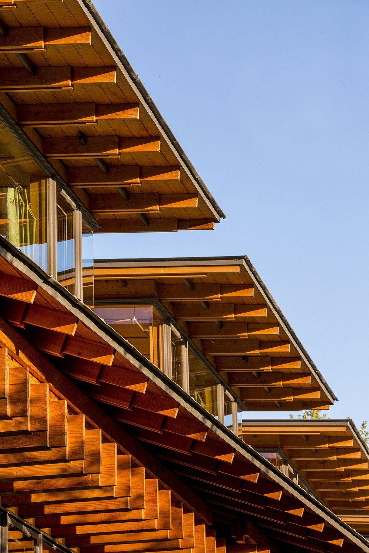 Thiết kế nhà gỗ hiện đại hòa mình cùng thiên nhiên tại Montana - 12